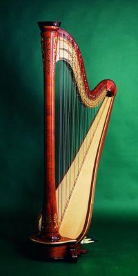 Konzertharfe Debussy 47 Saiten Höhe:ca. 183 cm Gewicht: ca. 34 kg