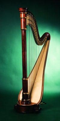 Konzertharfe Sinfonie 47 Saiten Höhe: ca. 183 cm Gewicht ca. 35 kg